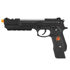 PISTOLA DE AIRSOFT À GÁS GBB GREEN GÁS M92 BIOHAZARD BARRY BURTON BLACK FULL METAL GBB 6MM - WE