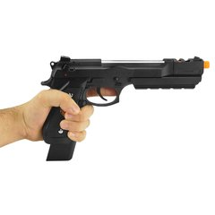 PISTOLA DE AIRSOFT À GÁS GBB GREEN GÁS M92 BIOHAZARD BARRY BURTON BLACK FULL METAL GBB 6MM - WE na internet