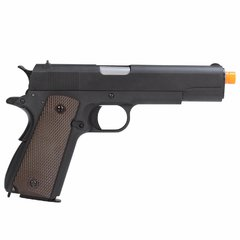PISTOLA DE AIRSOFT À GÁS GBB GREEN GÁS 1911 A-VERSION GEN 2 FULL METAL BLOWBACK6MM - WE - comprar online