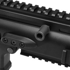 Imagem do RIFLE DE AIRSOFT À GÁS GBB GREEN GÁS SCAR BLACK BLOWBACK 6MM - WE