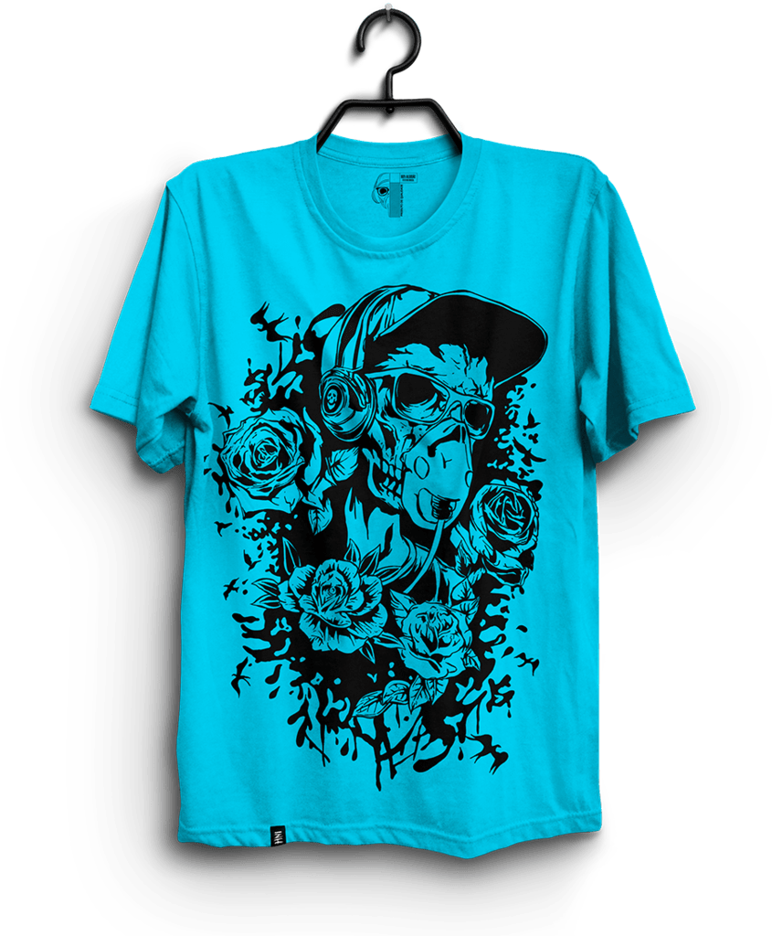 CAMISETA – CAVEIRA TATTO na internet