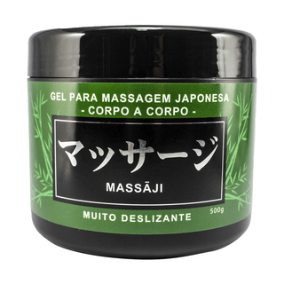 GEL PARA MASSAGEM MASSAJI 500G HOT FLOWERS