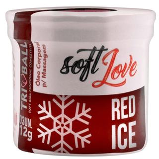 BOLINHA TRIBALL RED ICE 12G SOFT LOVE