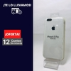 Silicona Case iPhone 6 Plus Blanco 101891
