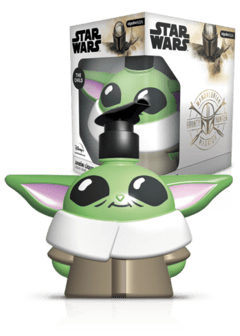 STAR WARS jabon liquido 3D Baby Yoda 500 ml