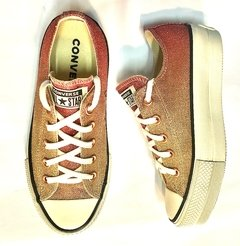 All Star Lift Metallic Light Gold/Egret/Egret - comprar online