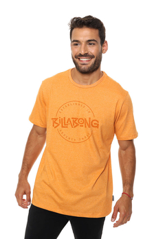 Remera Billabong Eighty Six Naranja