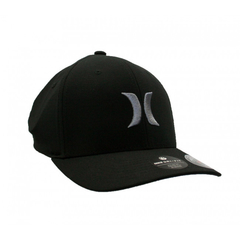 Gorra Hurley Dri-Fit One & Only Negro/Gris