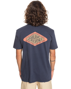 Remera Quiksilver Dust Of Days Azul (2212102073)