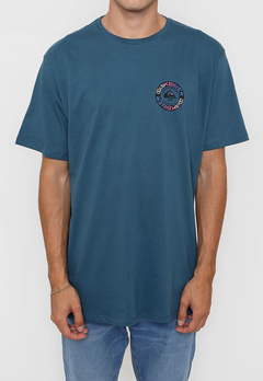 Remera Quiksilver Time Circle Azul (2212102105) en internet