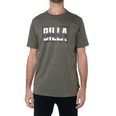 Remera Billabong New Estd 73 Verde Militar