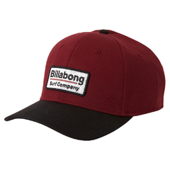 Gorra Billabong Walled Stretch Bordó