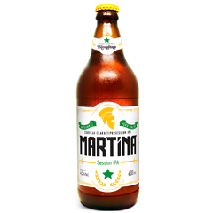 CERVEJA MARTINA SESSION IPA 600ML