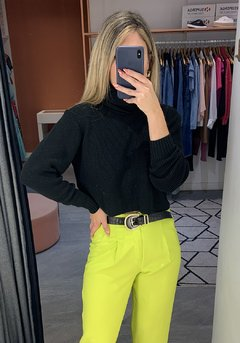 CROPPED TRICOT GOLA ALTA - loja online