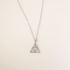 Colar reliquias harry potter - Maria Xica