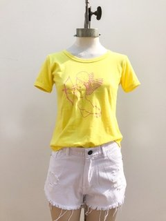 REMERA ÁNGEL YELLOW