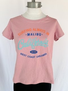REMERA CALIFORNIA ROSA