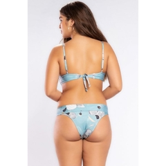 Tanga Bloom Estampada - comprar online