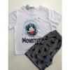 Pijama Monster Branco 2355i