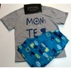 Pijama Monster Cinza 2355i