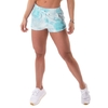 Shorts Tie Dye Fashion Turquesa