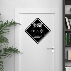WALL ART MADERA - GAMER ZONE