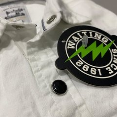 Camisa Broches Blanca - Waiting Boys