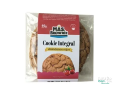 "Cookie integral ""Mas Brownie"" Sabor Arándanos rojos"