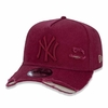 Boné New Era 9FORTY A-Frame Destroyed MLB New York Yankees - Vermelho