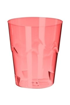 COPO STRAW MINI 25ML VM NEON C/10 (STRAWPLAST - 2478)