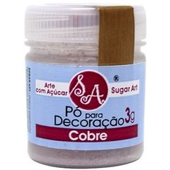 PO DECORACAO SUGAR ART COBRE 3G (SUGAR ART - 5378)