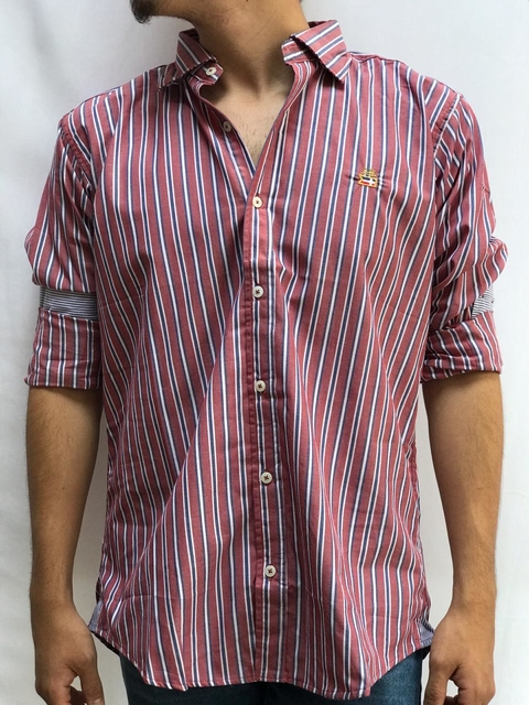 Camisa M/L Shoulders en internet