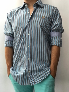 Camisa M/L Shoulders
