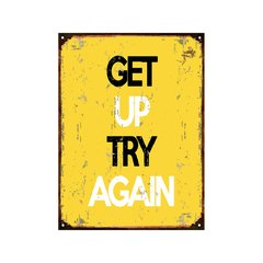 Get up try again