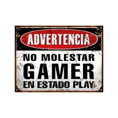 No molestar Gamer en estado Play