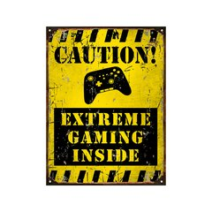 Caution extreme gaming inside