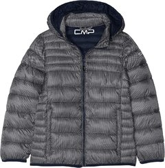 Campera CMP Zip Hood- Kids Niña - POPPER