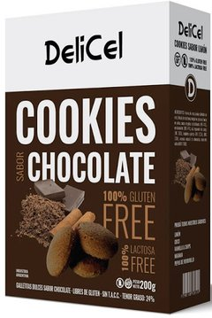 Galletitas De Chocolate Delicel 200gr