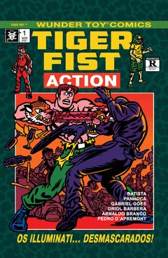 WUNDER TOY COMICS 1: TIGER FIST ACTION