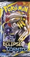 "Pokémon ""Eclipse Cósmico"" booster"