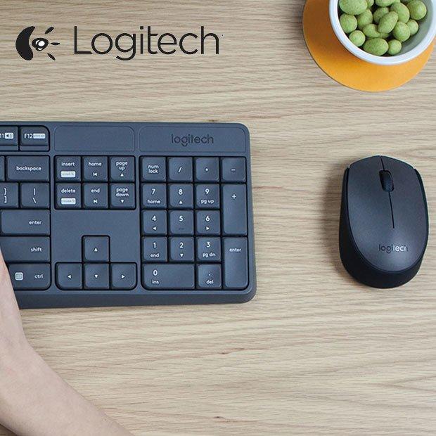 Logitech Mk235 Kit Teclado + Mouse Inalambrico Wireless Usb