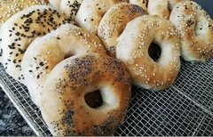 MINI BAGEL x 6 UNIDADES