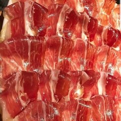 JAMON CRUDO MARQUES DEL SELLO (ORIGEN ESPAÑA) X 100 GR