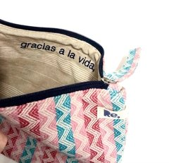 "HANDY BAGGY 07 ""gracias"" - zigzag multi colours - corda na internet"