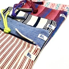 "HANDY BAGGY 07 ""gracias"" - zigzag multi colours - corda - loja online"