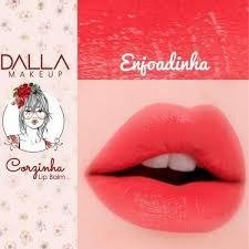 DALLA -  lip balm corzinha - DMAISMAKE-UP