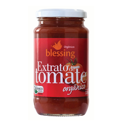 EXTRATO DE TOMATE ORGÂNICO 330G - BLESSING