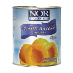 PÊSSEGO EM CALDA LIGHT 800G - NOR FOODS
