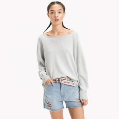 Tommy Jeans Sweater de mujer Essencial Round Hem