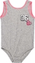 Body Infantil Friends Mescla Claro F-8827 - Momi